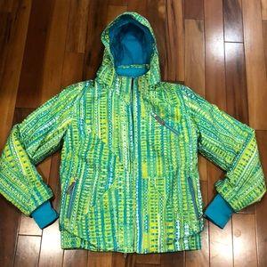 Spyder Pioneer Ski Jacket. Girls Size 14.